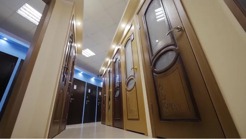 шпонированные и ламинированные двери